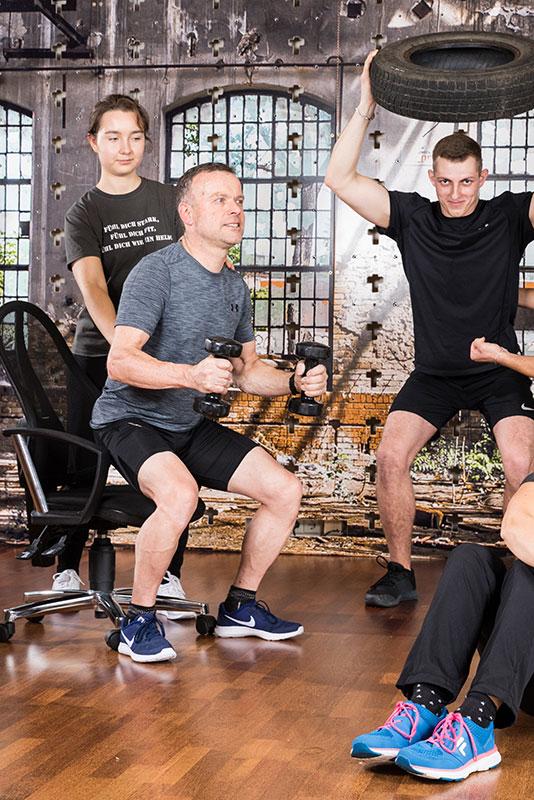 Funktionelles Training macht Spaß und hält ein Leben lang fit für den Alltag