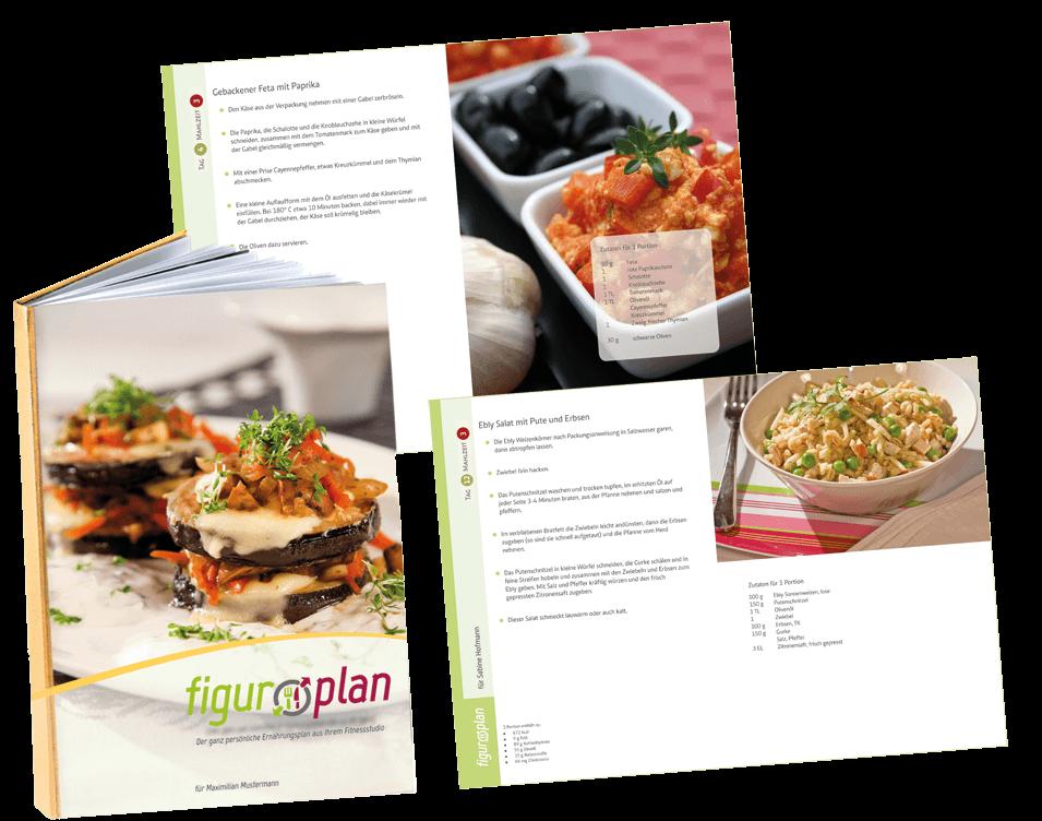 Der ASS-Figurplan ist ein individuelles Kochbuch, das auf Sie, Ihre Vorlieben und Ziele abgestimmt wird